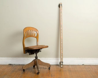Adjustable Sikes Co Stenographers Chair