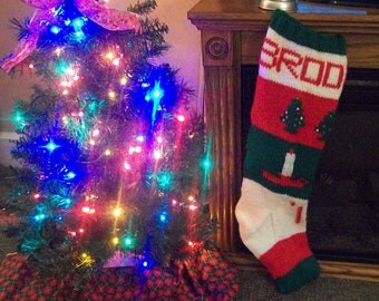 Hand Made Christmas Stockings, Made to Order