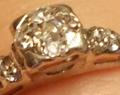 Vintage Wedding/Engagement Ring