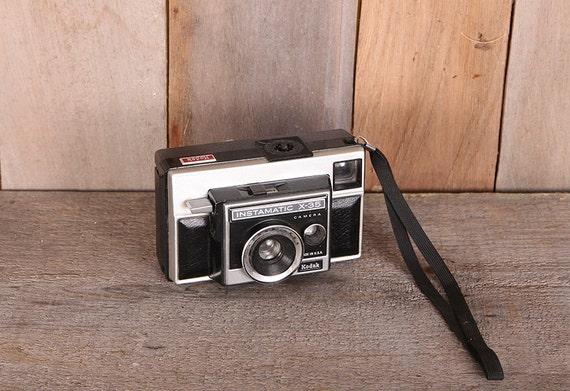 Kodak Instamatic X35 1970s Viewfinder Camera