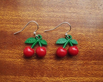 Cherry Bomb Dangle Earrings