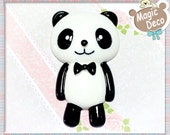 1pc Large 87mm Panda DIY Cell Phone Cabochon Deco HD5108