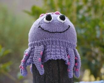 Octopus AniFloppyHat (Knit Floppy Hat)