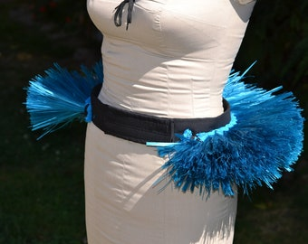 Un-decorated Cook Island style/Tahitian half hip belt