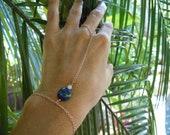 Blue Jean Finger Braclet, Hand Chain