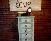 Super cute Shabby Chic Chest of Drawers