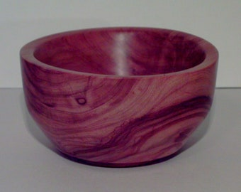 Wood Bowl- Jerusalem Olive Wood (sn.006)