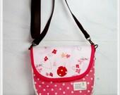 Pinky Handmade cotton 100%  Fabric Shoulder bag. women handbag&purse