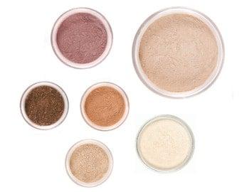 8pc Mineral Makeup Kit - FALL GLOW - Customize