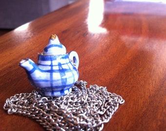 Teapot Necklace