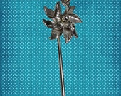 Sterling Silver Movable Pinwheel Charm - Style A