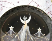 Royal Doulton House of Erte' Queen of the Night Collector Plate