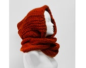 Mens hood scarf scoodie winter fashion accessories back to school christmas / anniversary gift