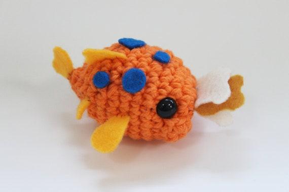 Amigurumi Lilo Y Stitch : Pudge amigurumi from Lilo and Stitch by CraftyCalamari on Etsy