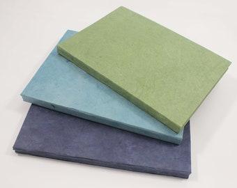 Eco-Friendly Handmade Journal / Notebook  Lokta Paper