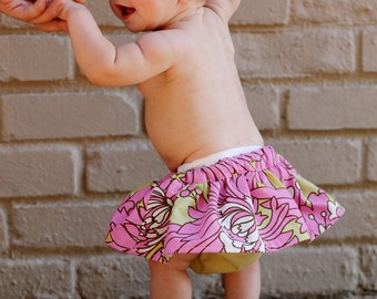 Lily Skirt Diaper Cover Pattern for Baby & Toddler