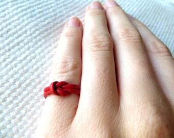 Leather Ring - Reef Boho