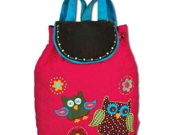 Personalized Stephen Joseph Owl Book Bag  SJ-1002-76, Back Pack