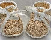 Crochet booties pattern - HK5 (PDF)