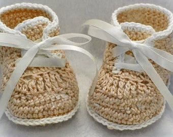 Crochet booties pattern - HK5 (PDF)