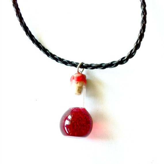 items similar to health potion necklace blood vial pendant