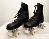 RESERVED - Roller Skates - Black Mens Pacer - Size 10