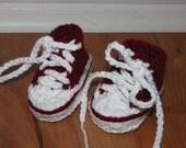 Crochet Baby Sneakers