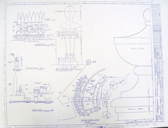 Walt disney world haunted mansion singing by blueprintplace for Haunted mansion blueprints