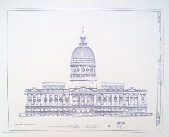 Explore united states capitol blueprints todays homepage georgia state capitol building blueprint by blueprintplace malvernweather Gallery