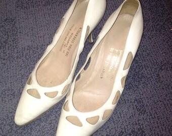 Vintage 60s Kitten Heels - Handmade in Italy by Torrisa for SKO Pira Stockholm