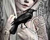 Sugar Skull Crow