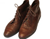 Vintage Spanish woven shoes