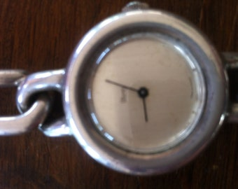 Vintage Obrey STERLING Silver Watch 100.00 DISCOUNT on this beauty