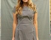 Custom Made Tea Dress, Vintage Inspired, Feminine and Flattering