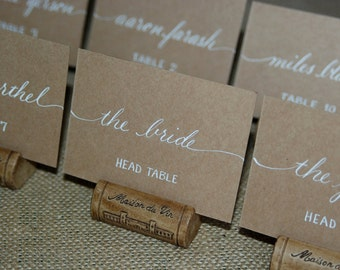 Items similar to tiffany blue place cards wedding place for Name place cards wedding