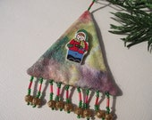 Triangular Choir Boy Ornament