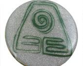 "Avatar tLAB Earth Symbol Necklace - 1.5"" Circular Pendant"