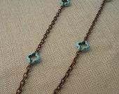 Affinity turquoise necklace