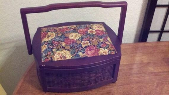Pretty Sewing Basket