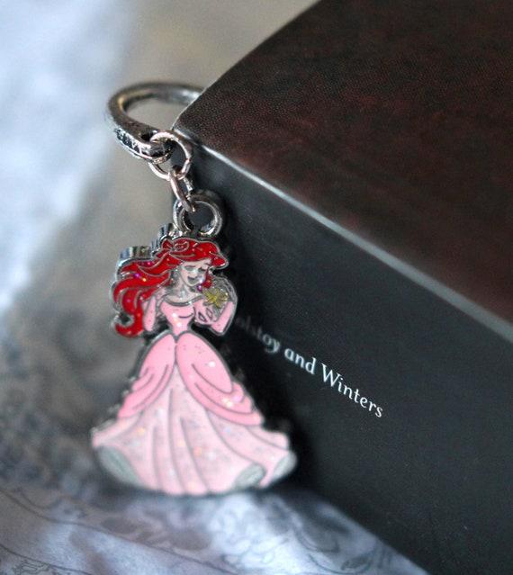 Disney Princess Silver Plate Bookmark - The Little Mermaid, Ariel