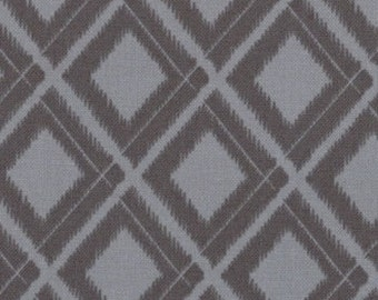 Simply Colorful - Two tone grey in argyle style Graphite Grey  10806 13