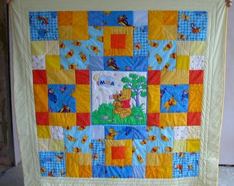 PDF Squares FULL quilt pattern- tutorial; 3 styles 16 inch block & alphabet- easy to medium skill printable instructions