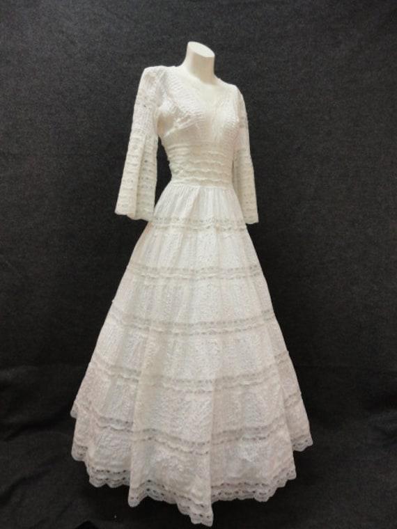 Wedding dress 60s wedding dress 70s wedding dress for 60s style wedding dresses