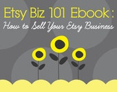 How to SELL your Etsy Business - Ebook / PDF guide