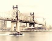 Queensboro 59th St Bridge, New York City Fine Art Photograph 5x7 or larger