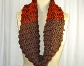 Autumn Handknitted Infinity Scarf