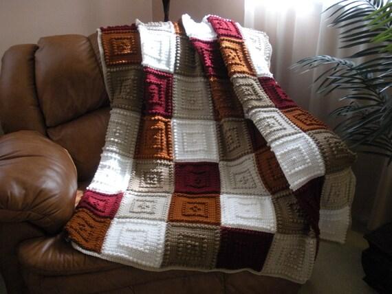 SLEEPY crocheted blanket