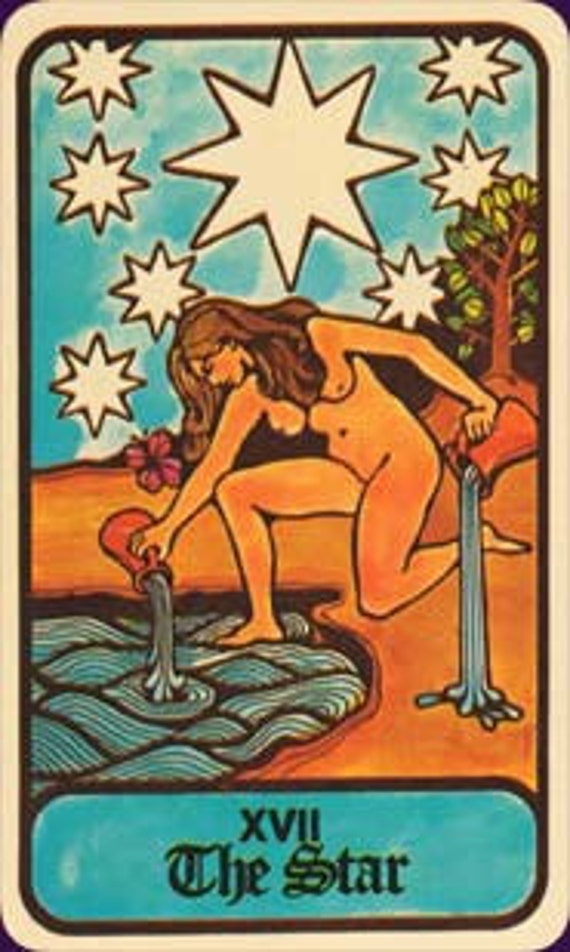 Hoi Polloi Tarot Cards 1972 - RESERVED for ahhnamission
