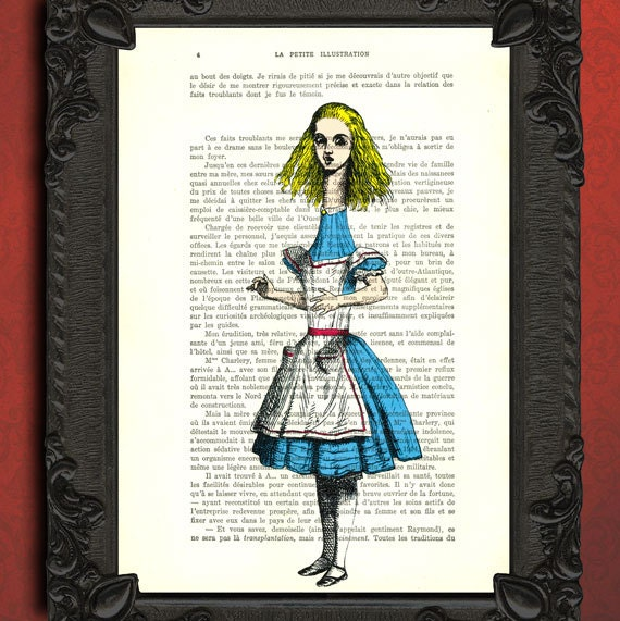 alice in wonderland print alice in wonderland by MadameMemento