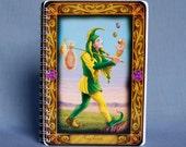 Tarot card sketchbook: the Fool